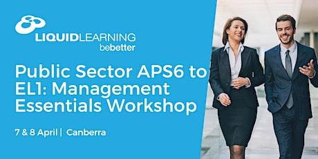 Public Sector APS6 to EL1: Management Essentials Workshop tickets