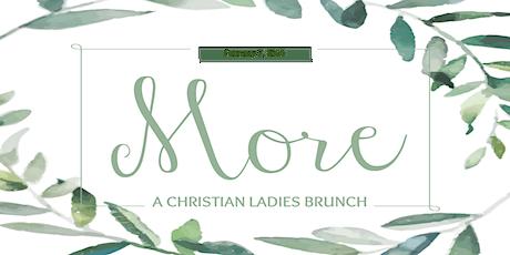 Christian Ladies Brunch tickets