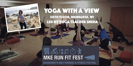 Yoga with a View - MKE Run Fit Fest tickets
