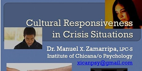 Cultural Responsiveness in Crisis Situations tickets