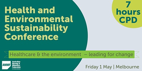 Health and Environmental Sustainability Conference 2020 tickets