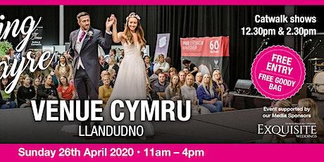 Venue Cymru Wedding Fayre tickets