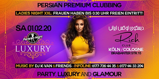 Sa. 01. Februar 2020: Persian Premium Clubbing @ Rich Club Cologne