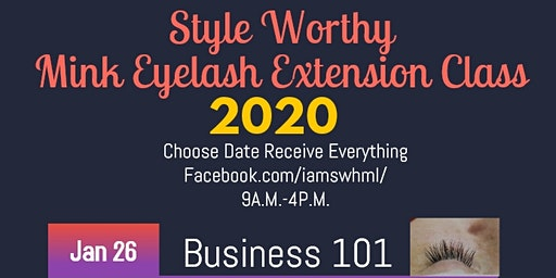 Eyelash Extension Class