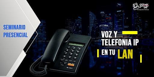 SEMINARIO PRESENCIAL: VOZ Y TELEFONÍA IP EN TU LAN