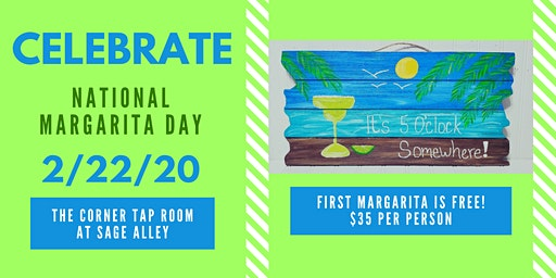 Margarita Day Paint and Sip - Sage Alley
