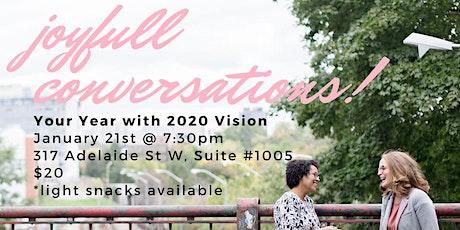 joyfull Conversations: January Edition tickets