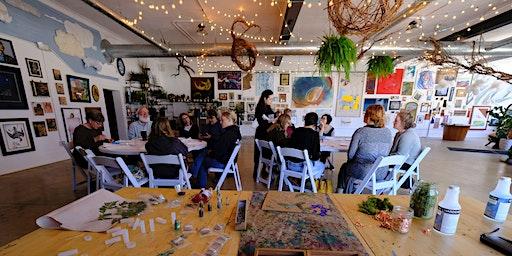 Botanical Resin Casting Workshop