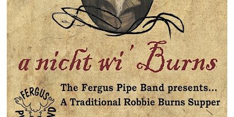Robbie Burns Supper tickets