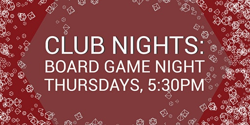 Club Nights: Board Game Night
