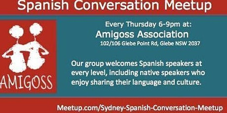 Spanish Conversation  Meetup - Practice your Spanish with Native Speakers ingressos