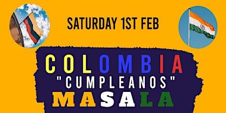 Colombia Cumpleanos Masala tickets