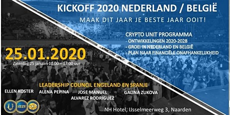 KICKOFF 2020  -  NL / BELGIË CONFERENCE CRYPTO UNIT PROGRAMMA tickets