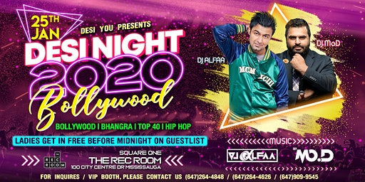 Desi Nights - The hottest BOLLYWOOD Party  in Mississauga