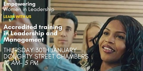 WOMEN IN LEADERSHIP- Accredited Training and 6 mon tickets