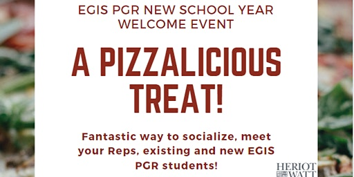 EGIS PGR NEW SCHOOL YEAR WELCOME EVENT