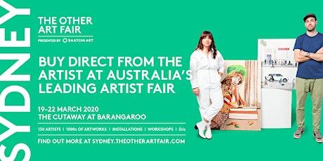 The Other Art Fair Sydney  tickets
