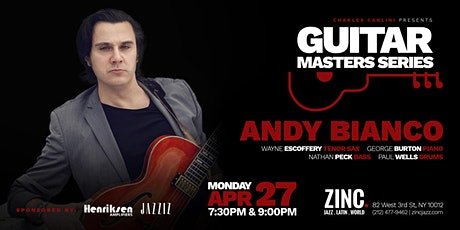 Guitar Masters Series: Andy Bianco tickets