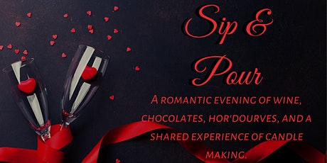 Valentine's Day Romantic Candle Making Sip & Pour tickets