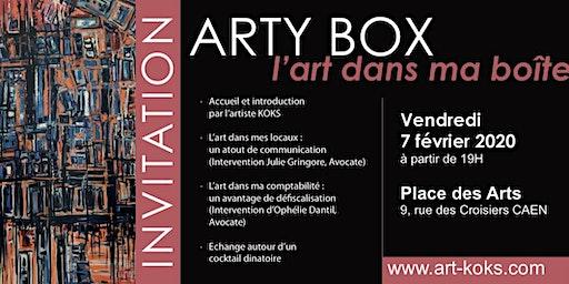 Soirée Arty Box – l'art dans ma boîte # Artiste KOKS