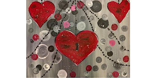 Elsa's On The Border (WILMINGTON AVE) - Hearts in Atlantis - Paint Party