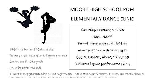 Moore High School Pom Clinic