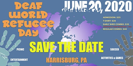 Deaf World Refugee Day tickets