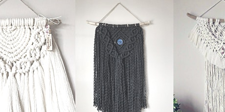 Macramé Fringe Wall Hanging Workshop tickets