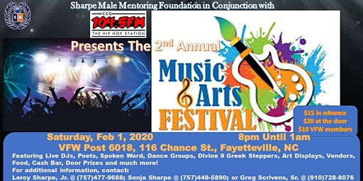 2nd Annual Music & Arts Festival
