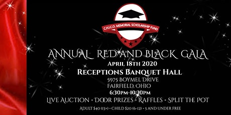 C.H.I.C.O Memorial Scholarship Fund Annual Red and Black Gala tickets