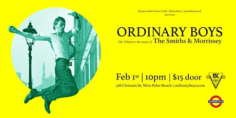Ordinary Boys: Smiths / Morrissey Tribute tickets