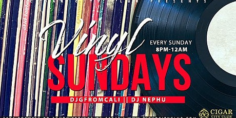 Vinyl Sundays tickets