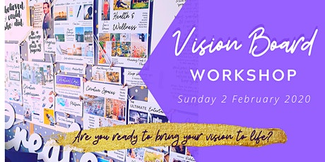 Vision Board Workshop - Adelaide (South) tickets