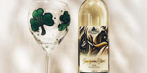 St. Patrick's Day Wine Glass Paint and Sip