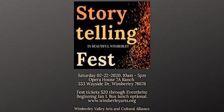 The Storytelling Fest in Beautiful Wimberley tickets