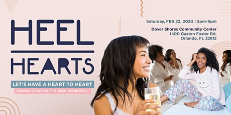 Let's Have A Heart to Heart Pajamas & Conversation Heart Health Party tickets