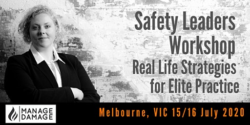 Safety Leader Workshop (Melbourne)