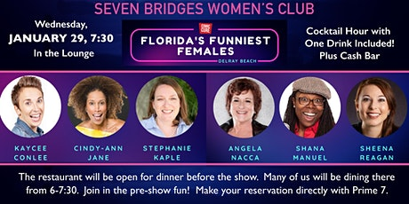 Women's Club Comedy Night tickets