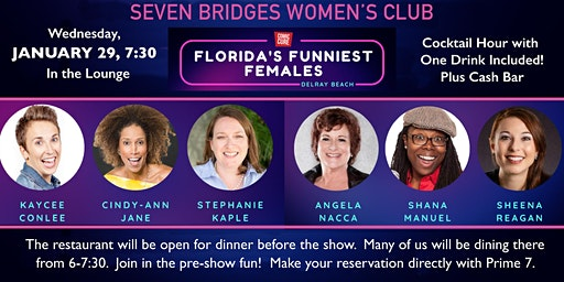 Women's Club Comedy Night