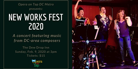New Works Fest, presented by Opera on Tap DC Metro tickets