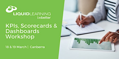 KPIs, Scorecards & Dashboards Workshop tickets