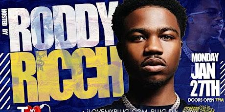 #GetPLUGGEDin RECORD POOL w/ RODDY RICCH tickets