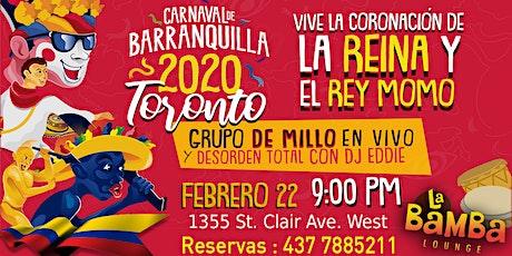 Carnaval de Barranquilla en Toronto 2020 tickets