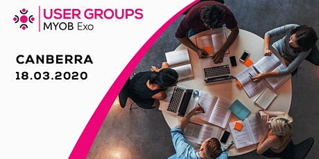 MYOB Exo User Group | Canberra tickets