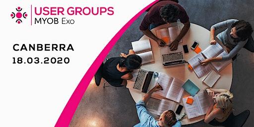MYOB Exo User Group   Canberra