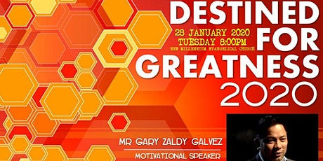 Destined for greatness 2020 @ BIZPRO Seminar tickets