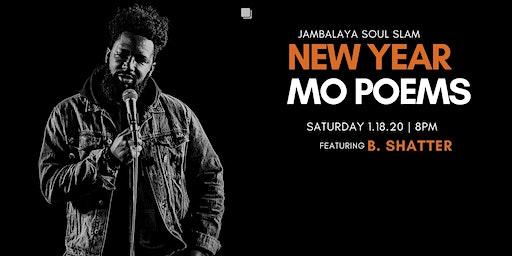 Jambalaya Soul Slam New Year Mo Poetry Poetry Slam