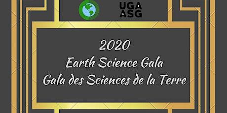 2020 Earth Science Gala / Gala des Sciences de la Terre tickets