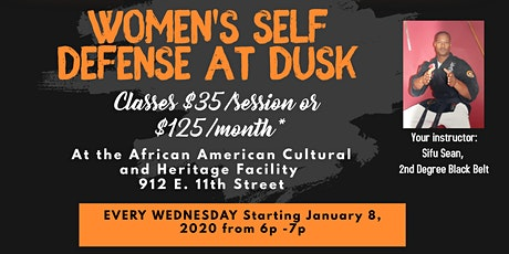 Women's Self-Defense at Dusk tickets