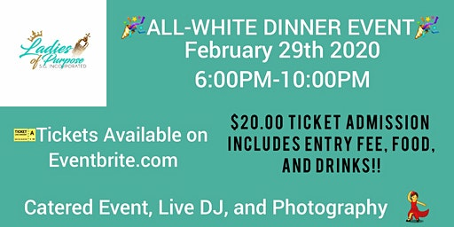 ALL-WHITE DINNER EVENT